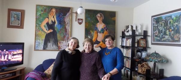 B.Butkevičienė, Beatričė Kleizaitė Vasaris, Dalia Poškienė - trys XXVII KMD pirmininkės