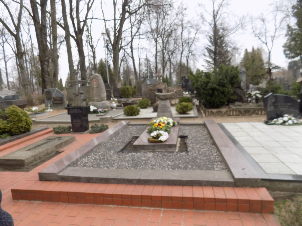 G.Petkevičaitės-Bitės kapas Panevėžio senosiose kapinėse