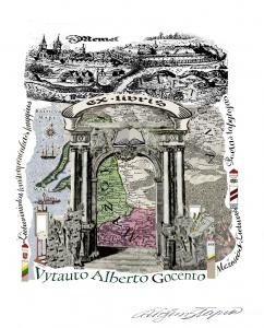 6.7 Exlibris III Vytautui Albertui Gocentui