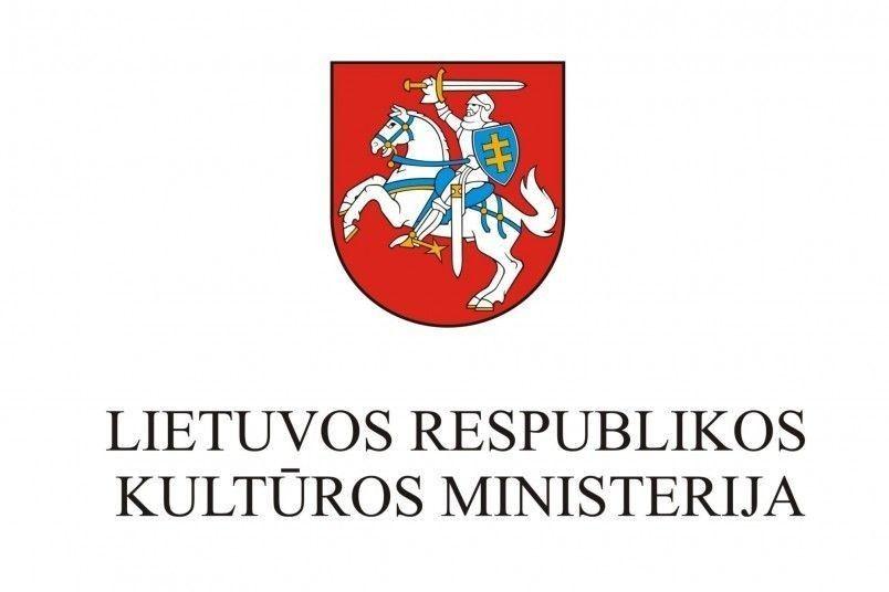 kulturos ministerijos logo