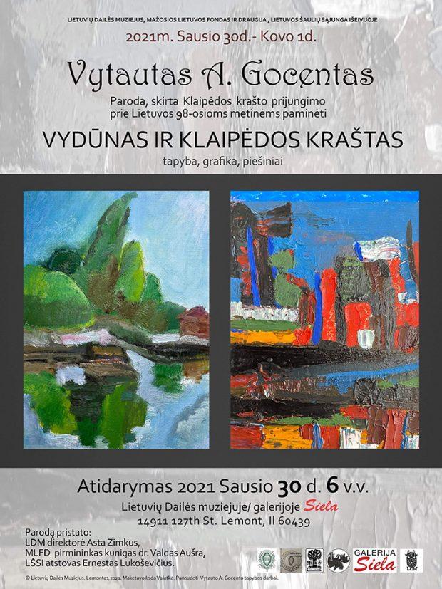 Vudunas-ir-Klaipedos-krastas Vytauto Gocento paroda